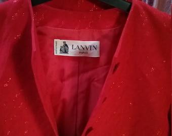 Lanvin 1960s costume