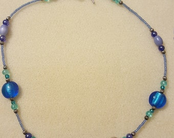 """18"""" beaded necklace"""