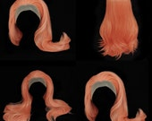 Pastel Peach lace front wig