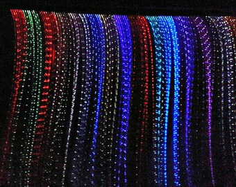 Optic Fiber Rainbow Curtain