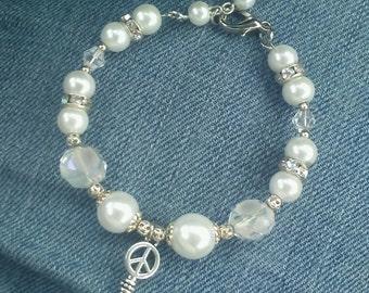 Peace bracelet in style
