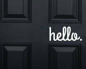 Hello for your door