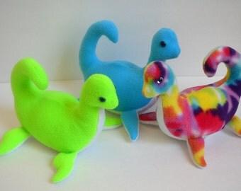 Hand-made Nessie Plush