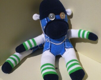 Sock Monkey Toy Converse Shoe Pattern | Quirky Box of Critters