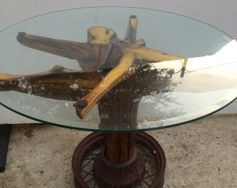 Reclaimed Driftwood Dining Table