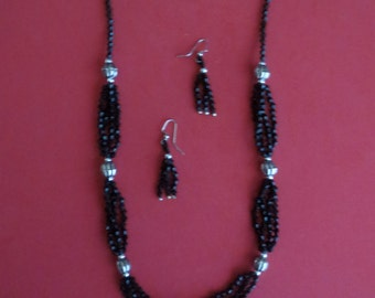 Handmade Necklace & Earring Set - Item #6-012