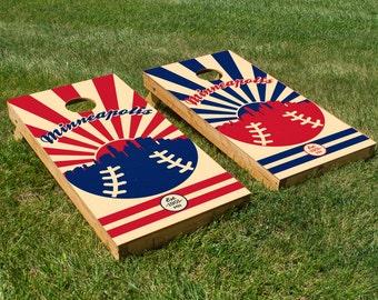 Minnesota Twins Cornhole Board Set
