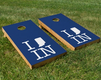 Indianapolis Colts Pride Cornhole Board Set