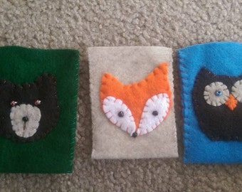 Forest Friends Gift Card Holders