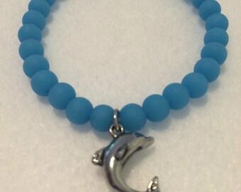 Dolphin Bracelet in Blue