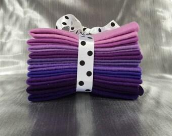 Mix Felt Craft Pack - Purples