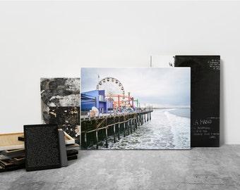 Santa Monica Pier - Digital Print