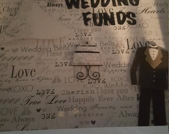 Wedding Funds Shadowbox bank