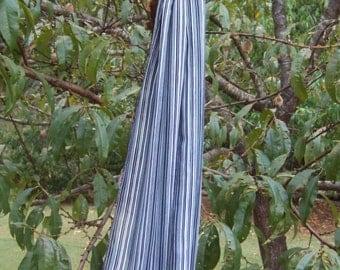 Scarf - B/W Stripe