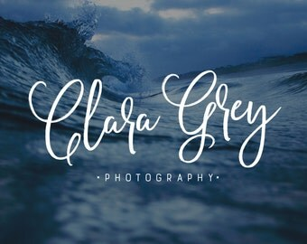 Logo Design | Photography Logo and Watermark | Photography Branding Kit | Photography Watermark | Premade Logo | Watermark Design