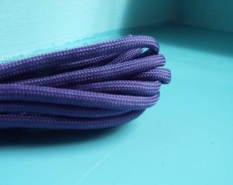 Paracord dog collar purple