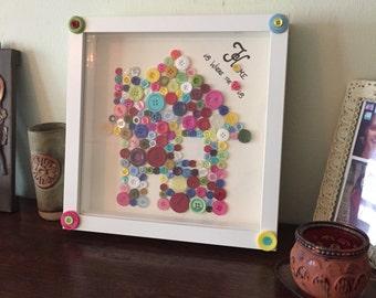 Home Button Art