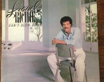 Lionel Richie Cant Slow Down Vinyl