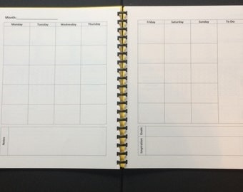 Calendar Page Pack
