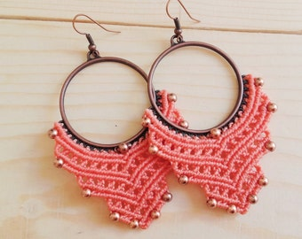 EARRINGS CORAL XL