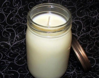 16oz Soy Wax Candle - Handmade - Choose Your Scent - Strongly Scented