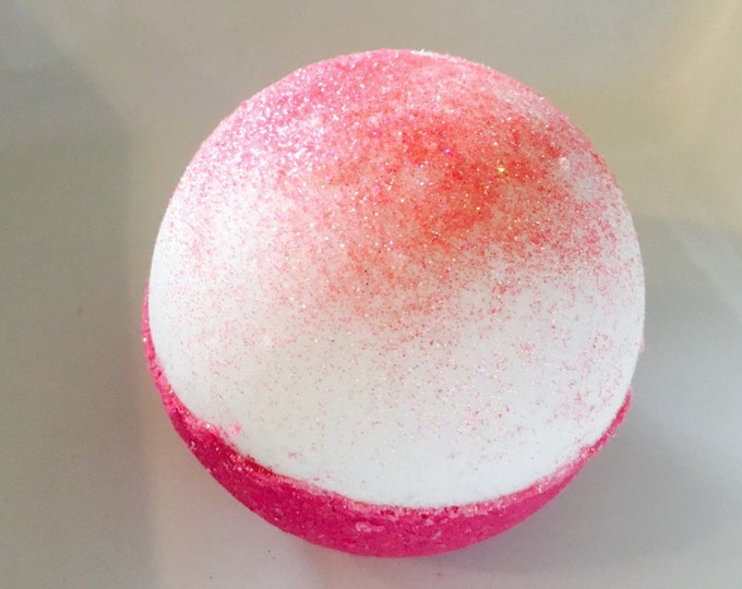 Holiday sangria bath bomb bath fizzy Christmas bath bomb