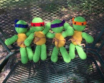 Little Ninja Turtle Dolls