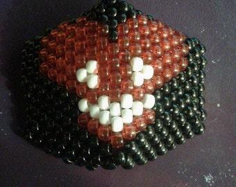 Red DeadMau5 Kandi Mask