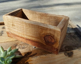 """6"""" x 12"""" Handcrafted Planter Box  - Empty"""