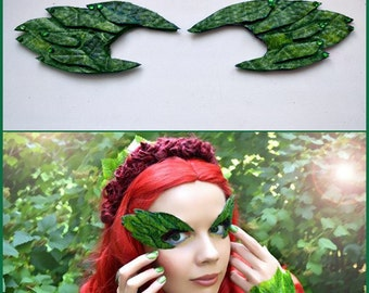 Poison Ivy Eyebrows, Poison Ivy Eye Mask, Mask, Eyebrows, Cosplay