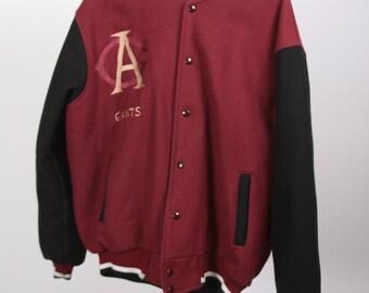 Vintage Men's Baseball Jacket XL Negro League Chicago American Giants