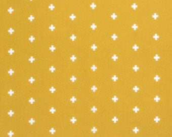 Cross Maize, Wander Collection by Joel Dewberry, Quilting Cotton, Gender Neutral Fabric