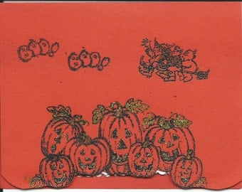 Handmade Happy Halloween Card – Item #00080