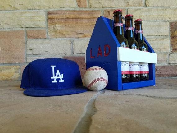 Customizable Dodgers Beer Tote
