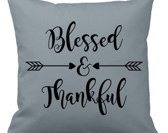 Blessed & Thankful Arrow Art, Decal, Heat Transfer, Cut File, SVG, DXF, Iron On, Vector, Thanksgiving, Silhouette, Cricut, Plotter