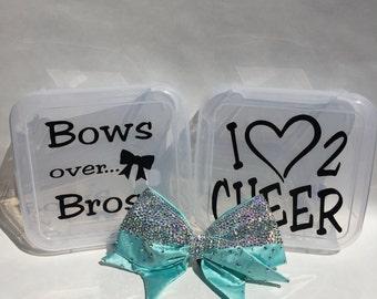 Cheerleading Bow/storage Boxes
