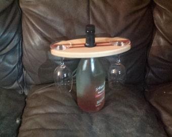 Wine Bottle Glass Holder
