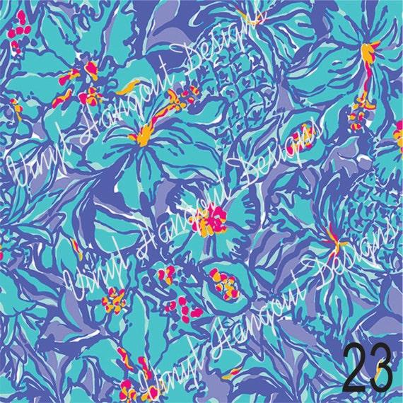 Pattern Vinyl Lilly Inspired Htv Lilly Pulitzer
