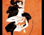 Shiva -  Final Fantasy inspired illustration