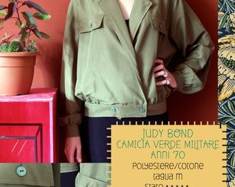 Vintage shirt/JUDY BOND/military style/other meals