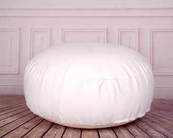 Posing Bean Bag for Newborn Photography 33in. diameter (unfilled) READY TO SHIP