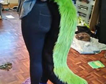 CUSTOM MADE Medium Fursuit Tail