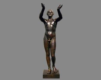 Sculpture, bronze, Praying Boy, 325 bevor Christ, artist unknown