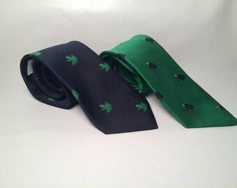Vinatage, pair of 2 ties