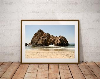 Pfeiffer beach rock beach photography