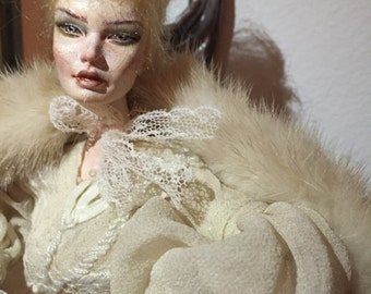 Porcelain art ball jointed doll Amalia