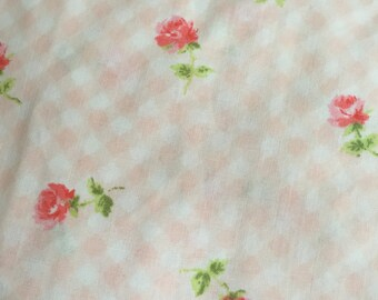 Vintage twin size fitted sheet