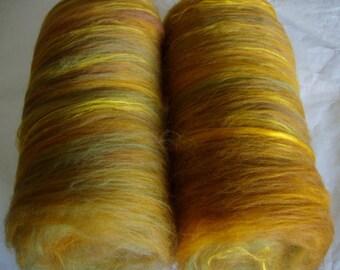 3.5oz spinning batts, merino silk, batts for felting, batts for spinning, felting fiber, spinning fiber, fibre batts, batting, batt, country