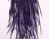 Purple and black dreadfall -MADE TO ORDER