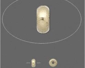 VERSATILE Gold Brass Heishi Spacers Beads 4mm 50pcs